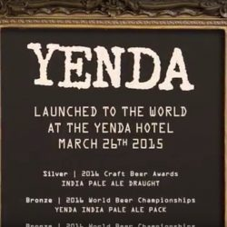 Yenda Adopt-a-Pub Sales Incentive Client: Kinetic/CCA Produce sales Incentive clip for Yenda Craft Beer shot on location.